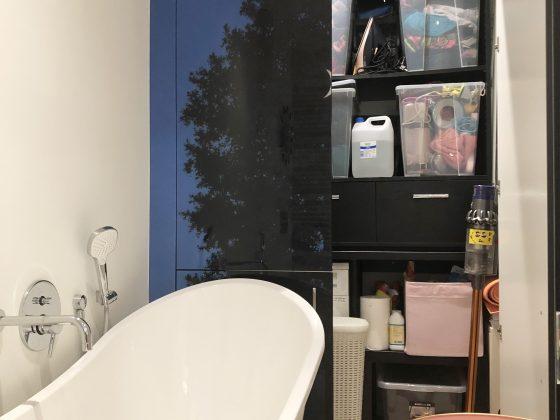 pralnia w łazience
